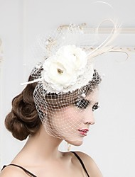 Women's Feather Headpiece-Wedding / Special Occasion Headbands / Fascinators 1 Piece