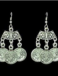 Ohrring,Tropfen-OhrringeSchmuck 2 Stück Aleación Silber