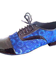 Keilabsatz - Kunstleder - Latin/Modern/Salsa/Standard-Tanz Schuhe - Herren