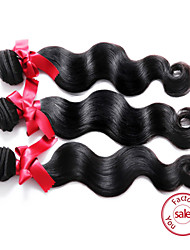 EVET Hair Brazilian Virgin Human Hair Body Wave Hair 3 Bundles Extensions Natural Color Remy Hair Free Shipping