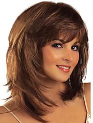 ppopular cor da moda de alta qualidade cabelo europeu e americano perucas perucas naturais onda