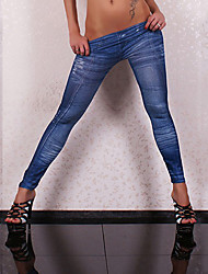 Women's Sexy Casual Tattoo Painting Skinny Pants