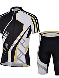 CHEJI® Cycling Jersey with Shorts Men's Short Sleeve BikeBreathable / Quick Dry / Ultraviolet Resistant / Insulated / Moisture