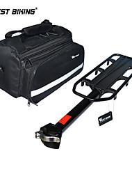 WEST BIKING® 50Kg Capacity Bike Racks+Lycling Rear Saddle Bag