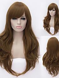 européen et américain cheveux de fil à haute température perruque de cheveux naturels fashion girl de haute qualité nécessaire