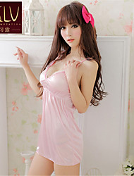 SKLV Women's Ice Silk Robes/Ultra Sexy/Suits Backless Nightwear/Lingerie