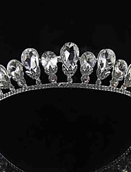 Women Rhinestone/Alloy Tiaras With Wedding/Party Headpiece