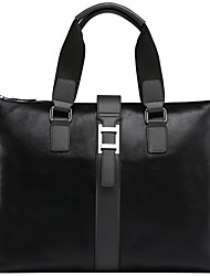 Formal / Casual / Oficina y Trabajo - Bolso de Hombro / Tote / Portafolios / Bolsa de Portátil / Cross Body Bag - Piel de Vaca -Gris /