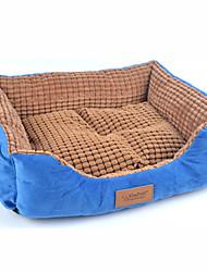 soft cutton niedliche Haustierbett für Hunde Katzen 62 * 46 cm / 24 * 18-Zoll-