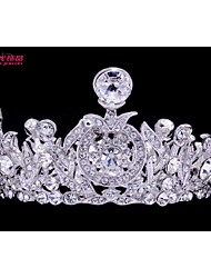 Neoglory Jewelry Mini Tiaras Crystals Crowns Bridal Hair Accessories for Little Girl Wedding Jewelry