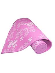 Baotao ® 6mm Yoga Mats Sticky Waterproof Snowflakes BT46