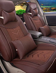 asiento de coche temporadas cojín cojín de cuero del amortiguador de masa 5 modelos - volver tamaño cojín del asiento a aproximadamente