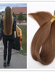 3pcs / lot cheveux 1g / s 100g / pc bâton / i Tip cheveux extension de cheveux vierge de fusion de capsule pré-collé de la kératine en