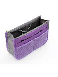 Double Zipper Storage Bag And Cosmetic Bag