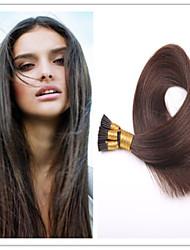 3pcs / lot 1g / s 100g / pc kératine vierge fusion pré-collé cheveux bâton / i basculer extension de cheveux en stock