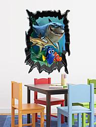 настенные наклейки наклейки для стен, мультфильм В поисках Немо Акула ПВХ стикер стены