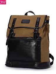 zipper retro corda mochila homens da moda puxando mochila saco de viagem lona ocasional