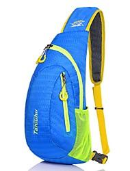 Унисекс Нейлон Для отдыха на природе Слинг сумки на ремне Фиолетовый / Синий / Зеленый / Желтый / Оранжевый / Черный