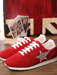 Zapatos de Mujer ( Negro/Azul/Rojo Semicuero