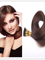 Stick Cheveux / i basculer extension de cheveux brésiliens vierges cheveux raides 1g / s 100g / pc 1pc / lot pré-collé humaine en stock