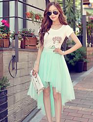 Pink Doll®Women's Beach/Casual Asymmetrical Skirts