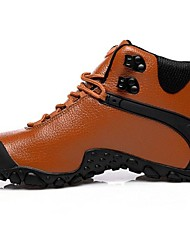 Cycling/Hiking/Fitness &  Training/Climbing/Trail Running Men's Shoes Leather Black/Brown