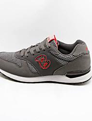 YWQI Running Men's Shoes Brown/White/Gray