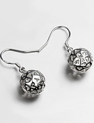 Hot Selling Products Italy S925 Silver Plated Drop Earrings for Lady Fine Statement Jewelry for Women