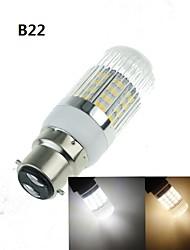 7W E14 / G9 / GU10 / B22 / E26/E27 LED лампы типа Корн T 40 SMD 5630 1200-1600 lm Тёплый белый / Холодный белый Декоративная AC 100-240 V