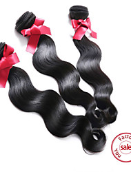EVET Hair Weave For Sale Body Wave Human Hair 3 Bundles Malaysian Hair Extension Free Shipping 6A Grade Hair Products