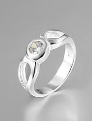 vendita calda della signora vestito s925 argento anelli di modo dell'anello dichiarazione placcato per le donne 2015 vetrine gioielli