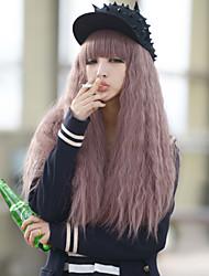 Japão e Coréia do Sul modelos explosão de cabelos longos fios de alta temperatura de alta qualidade