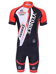 Livelli Base/Jersey/Leggings - Ciclismo - Per uomo - Maniche corte -Traspirante/Traspirabilitàalta(>15001g)/Resistenteai raggi
