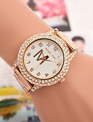 Women's Watches Swiss Quartz Watches Fashion Diamond Alloy Steel Watch