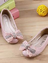Girls' Shoes Dress Comfort  Flats Pink/White