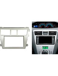 Car Radio Fascia for TOYOTA Vios Belta Yaris Sedan DVD CD Stereo Facia Installation Fitting Dash Kit Trim