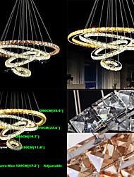 Lustres ,  Contemprâneo Tradicional/Clássico Tifani Rústico Galvanizar Característica for Cristal LED MetalSala de Estar Quarto Sala de