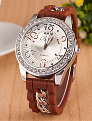 T.watch Women's Steel Band Analog Quartz Casual Watch More Colors