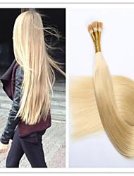 3pcs / lot 1g / s 100g / pc haute qualité des extensions vierges pré-collé brésilienne de cheveux humains i tiens extensions de cheveux en