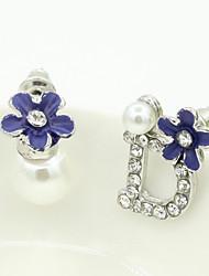 XIXI Women's The Newest Fashion Casual Gold Plated/Rhinestone/Imitation Pearl Stud Earrings