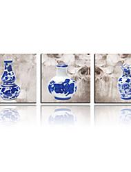 VISUAL STAR®China Culture Triple Canvas Painting Printing Art Ready To Hang
