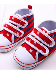 Baby Shoes Casual Canvas Fashion Sneakers Blue/Red