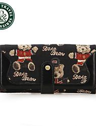 DAKA BEAR® Fashion Women Wallet Lady Purse Card Holders Mini Handbag