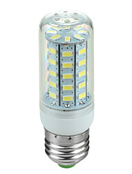 4W E26/E27 Ampoules Maïs LED Pivotant 48 SMD 5730 600 lm Blanc Froid AC 100-240 V 1 pièce