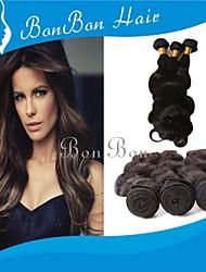 Tecelagem peruana cabelo 1pcs onda corpo humano