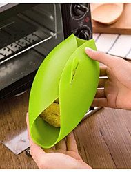 Soft Silicone Oven Bowl Fish Cooker Chicken Wing Fried Dumnpling Food Kitchen Cooking Tool