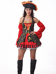 Halloween queen Female Pirate lady Cosplay costumes with stage