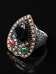 Party/Casual Vintage Alloy/Gemstone Water Drop Shape Statement Ring