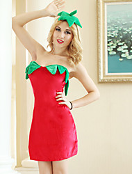 Fruit sexy strawberry Costume Party action role play Halloween Cosplay fruit clothes
