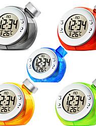 Эко зеленый воды питание цифровые часы часы календарь вода